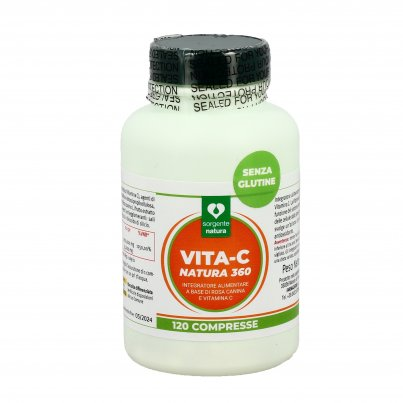 Vita-C Natura 360 - Integratore di Vitamina C e Rosa Canina