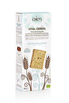 Vital Cereal - Fette Biscottate 9 Cereali, Avena, Semi Girasole e Papavero