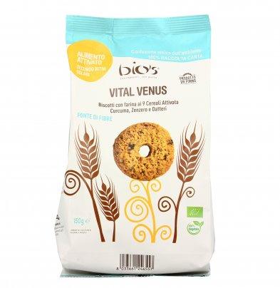 """Vital Venus"" Biscotti 9 Cereali, Curcuma, Zenzero e Datteri"