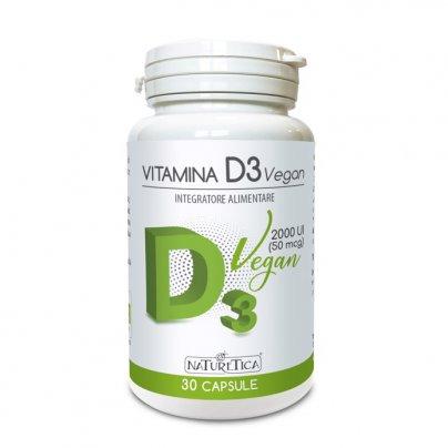 Vitamina D3 Vegan in Capsule - Sistema Immunitario e Ossa