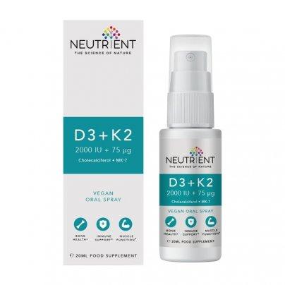 Vitamine D3 + K2 Neutrient - Integratore Spray