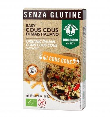 Cous Cous di Mais Italiano Senza Glutine