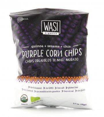 """Purple Corn Chips Bio """"Quinoa + Sesamo + Chia"""""""
