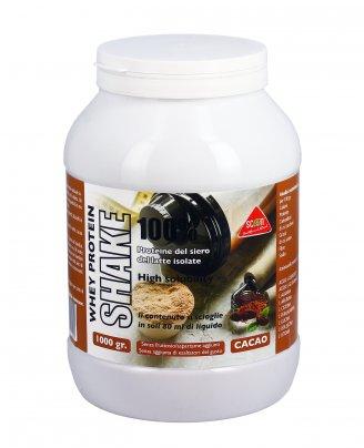 Proteine del Siero del Latte Whey Protein Shake 100% Cacao