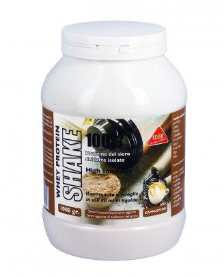 Proteine del Siero del Latte Whey Protein Shake 100% Cappuccino