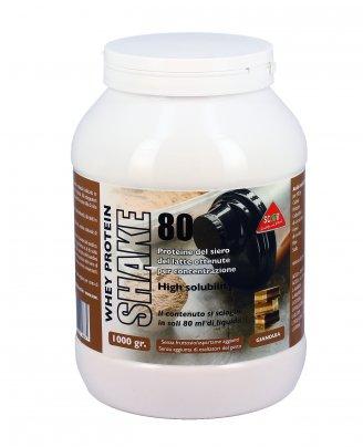 Proteine del Siero del Latte Whey Protein Shake 80 Gianduia
