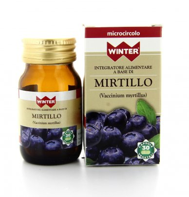 Integratore Alimentare - Mirtillo - Microcircolo