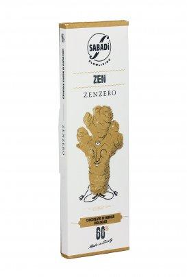 Cioccolato di Modica Bio allo Zenzero - Zen