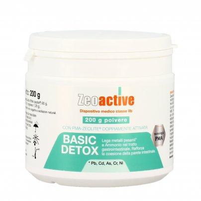 Zeolite Basic Detox in Polvere - Detossinante Contro Metalli Pesanti - Zeoactive® 200 g
