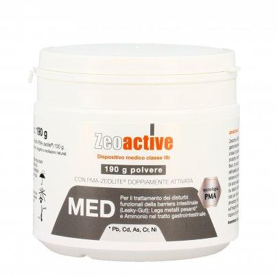 Zeolite Med in Polvere - Protezione Intestino e Detox dai Metalli Pesanti - Zeoactive®