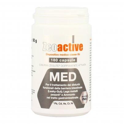 Zeolite Med in Capsule - Protezione Intestino e Detox dai Metalli Pesanti - Zeoactive®