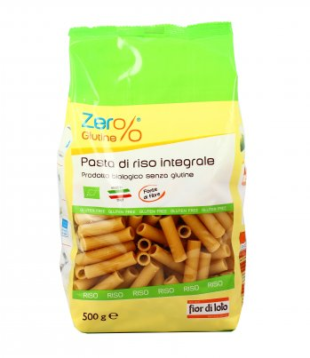 Zero Glutine - Rigatoni di Riso Semigreggio