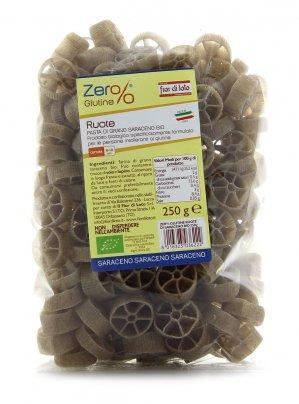 Ruote di Grano Saraceno Bio Zero Glutine