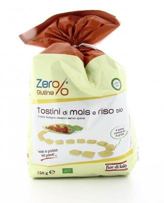 Zero Glutine - Tostini di Mais e Riso Bio
