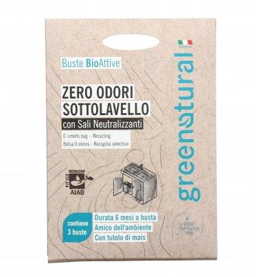 Zero Odori Sottolavello con Sali Neutralizzanti - Busta Bioattiva