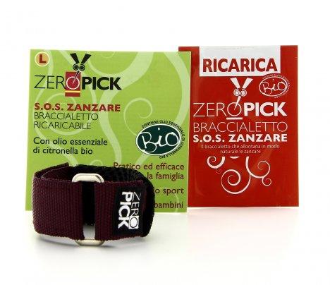Zeropick - Braccialetto Antizanzare Bourdeaux - Taglia S