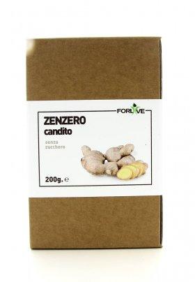 Zenzero Candito - Senza Zucchero