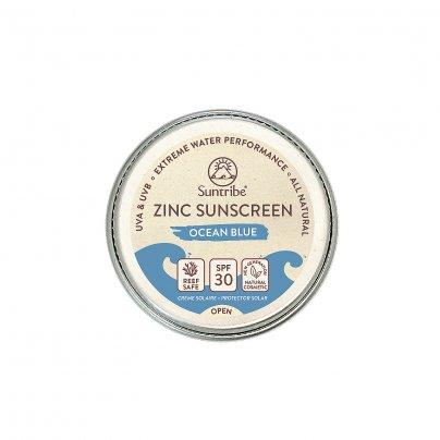 """Crema Solare Viso Sport allo Zinco Spf30  """"Ocean Blue"""" (Formato Small)"""