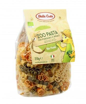 Pasta Biologica con Pomodoro e Spinaci - Zoo Pasta