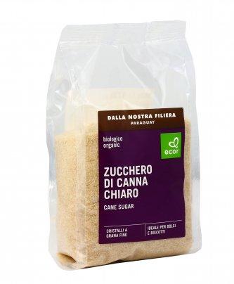 Zucchero di Canna Chiaro Biologico 500 gr.