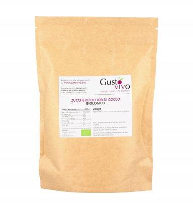 Zucchero di Fior di Cocco Bio 250 gr.