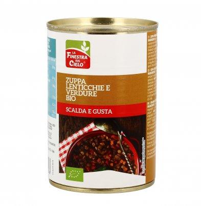 Zuppa di Lenticchie e Verdure