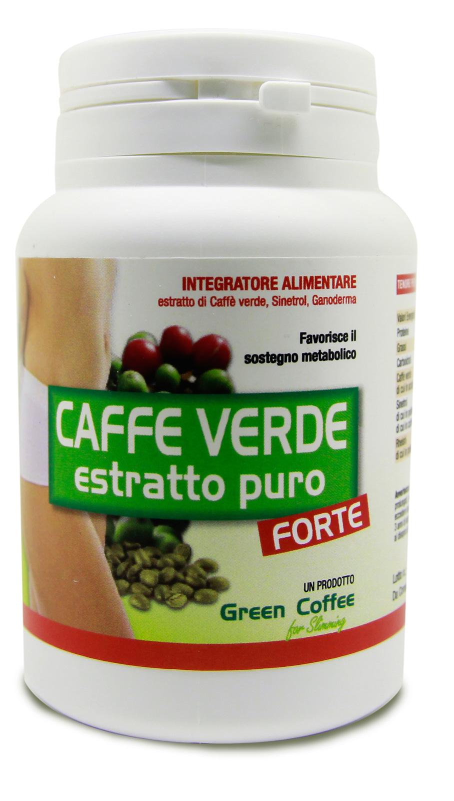 costituenti del chicco di caffè verde