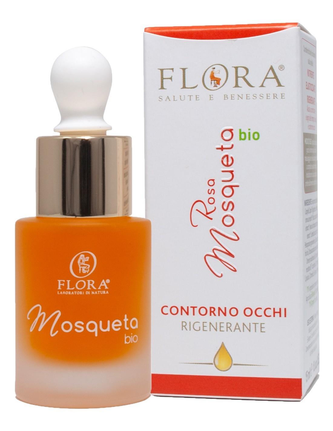 Olio Plus Contorno Occhi Rosa Mosqueta Flora