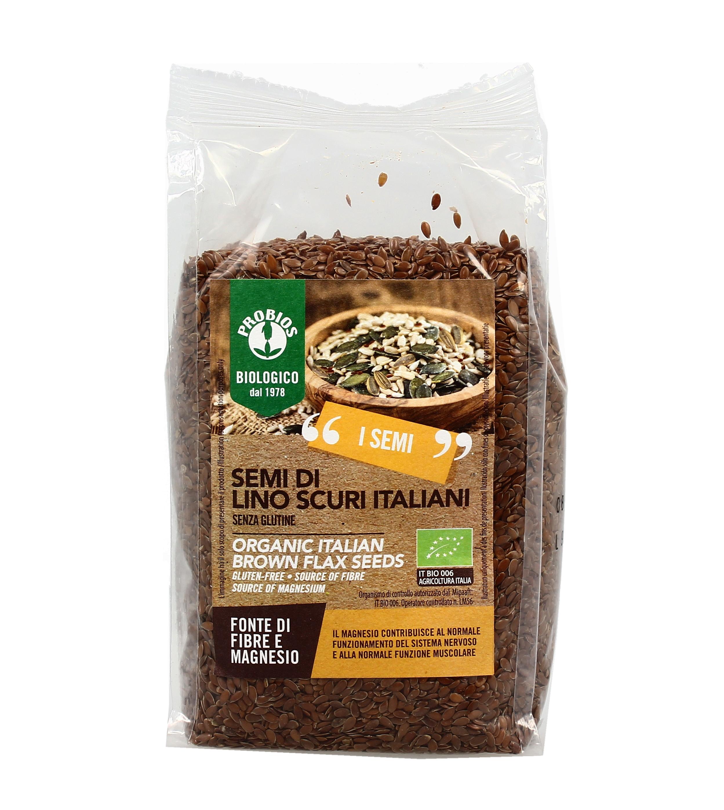proprietà nutrizionali dei semi di lino