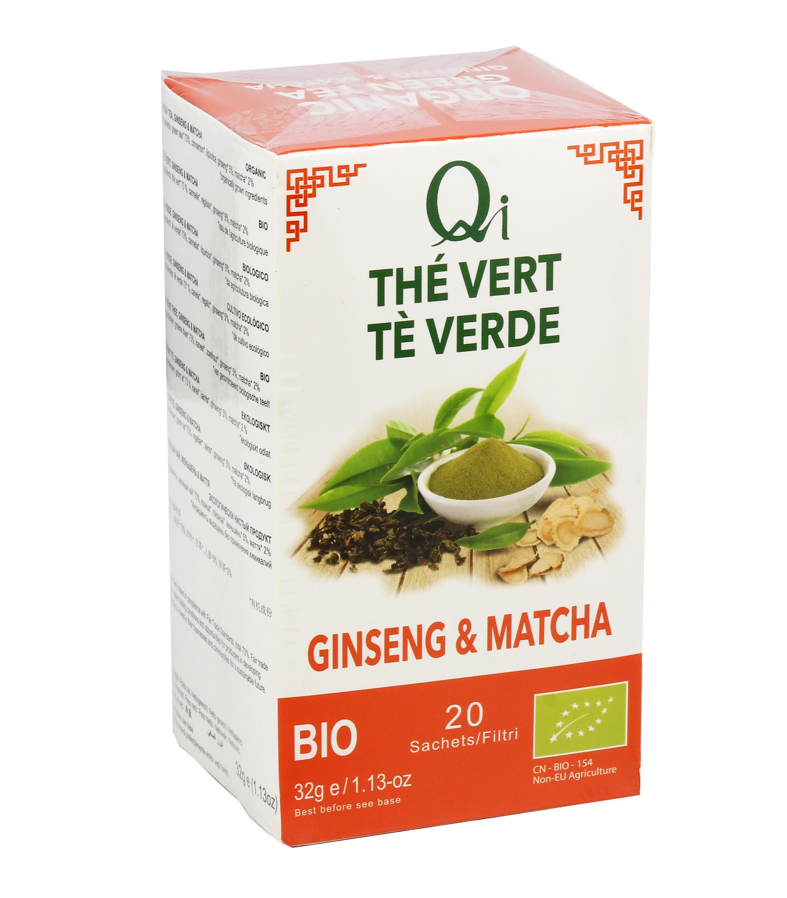 Te Verde Ginseng E Matcha Qi