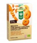 Biscotti Biologici con Grano Saraceno, Carota e Mandorle - Altricereali