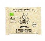 Tavoletta di Cioccolato Crudo Fondente 80%