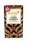 Tisana Pukka - English Breakfast Lively con Ginseng