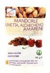 Snack di Mandorle con Uvetta Alchechengi e Amarene