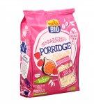 Porridge Biologico con Fichi e Lamponi