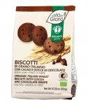 La Via del Grano - Biscotti Frumento con Cacao e Gocce di Cioccolato