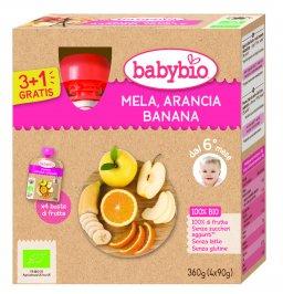 Purea di Frutta - Mela, Arancia e Banana