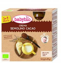 Dessert Crema di Semolino al Cacao
