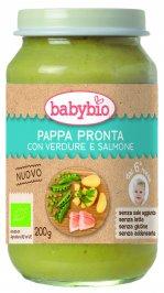 Pappa Pronta con Verdure e Salmone
