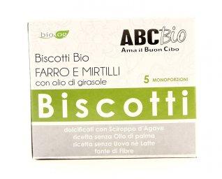 Biscotti Bio Farro e Mirtillo