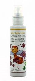 Acqua di Pulizia con Aloe, Camomilla, Malva e Calendula - Baby Gaia