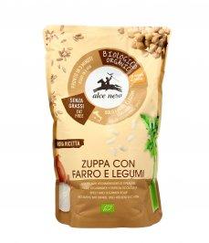 Zuppa di Legumi e Farro Bio