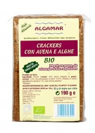 Crackers con Avena e Alghe Bio