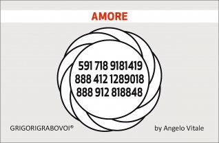 Tessera Radionica 74 - Amore