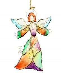 Decorazione Angelo - Angel Of Mosaic Capiz