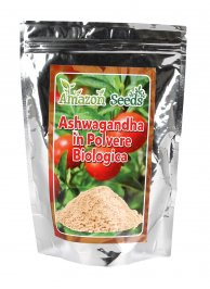 Ashwagandha in Polvere Biologica
