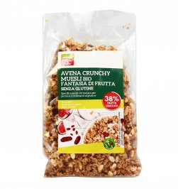 "Avena Crunchy Muesli Bio ""Fantasia di Frutta"""