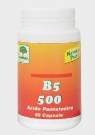 B5 500 - Acido Pantotenico - 50 Capsule