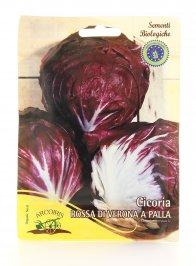 B594 Semi di Cicoria Rossa di Verona a Palla