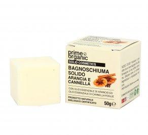 Bagnoschiuma Solido Arancia e Cannella